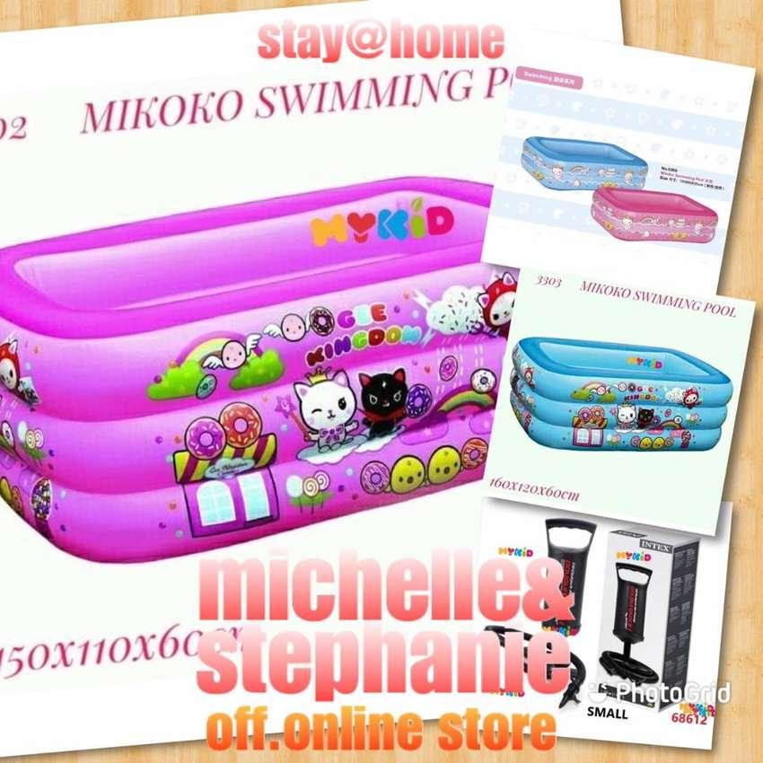 M&S OUTDOORMYKIDS12 - 2020 Kolam Renang Tiup Kotak MIKOKO GEE KINGDOM 0