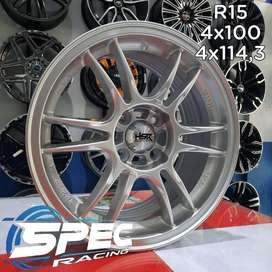 Jual Pelek Mobil Calya Racing R15 HSR Di Toko Velg Dan Ban Mobil Medan