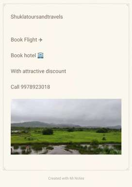 Flight and hotel booking
