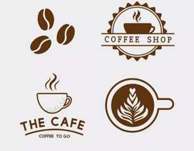 CAFE online business available.website,Android app,Templates,menu card