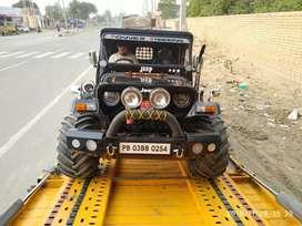 Ajay modified jeep