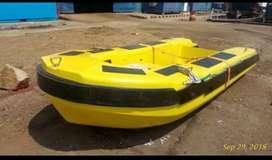Kapal / Fiber boat / rescue boat