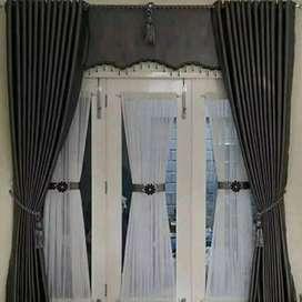 Interior cantik gordyn kordyn Hordyn tangan penjahit handal SDZ142