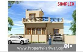 3 bhk duplex simplex House for sell in Modipuram in Meerut
