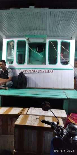 Dijual Kapal Penumpang th 2020 dari Kayu besi