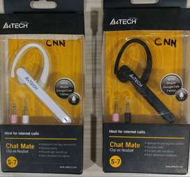 A4-tech headset with mic