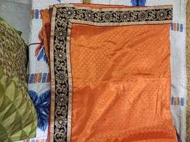 Sari with blouse piece