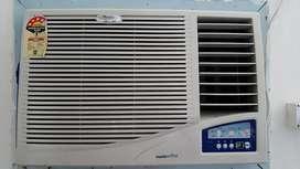 Whirlpool 1.5 T Window AC, VGuard stabilizer 2013 model