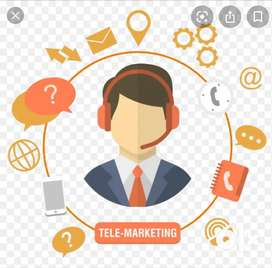 Telecaller for call ceter with good spoken and written english