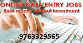 Data to job without interview and earn money