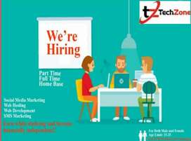 Part time and full time jobs available
