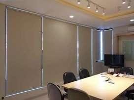 panel hordeng vertikal horizontal roll blind berkualitas 222