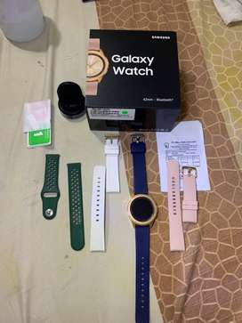 Samsung Galaxy watch 42 mm 42mm Rose Gold Pink mulus