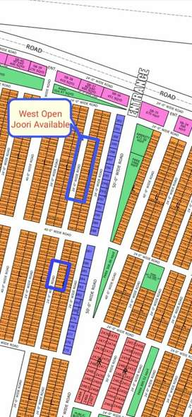 80 Sq-yd Plots on Instalment in North Town Residency Phase 1