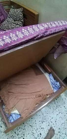 Single sofa cum bed