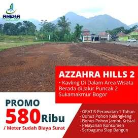 Kavling Bogor Azzahra Hills 2 Sukamakmur