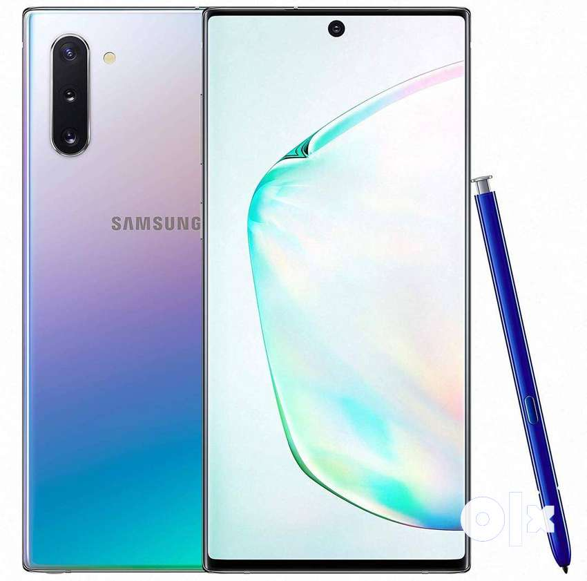 Note 10+ argent sell money problem 0