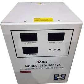 Stabilizer SAKO TSD-10000VA LED / 10kVA / Stabil Digital 10000 VA