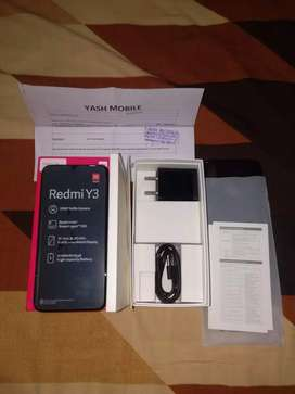 Redmi y3 brand new phone