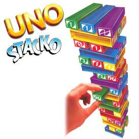 Uno Stacko The Stacking Block Game