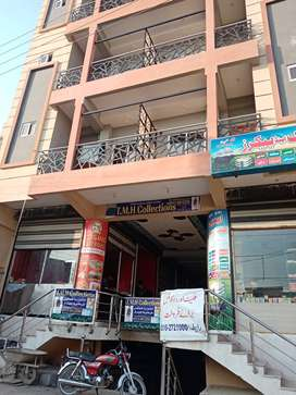 H-13 Islamabad 2 bed 2 bath T.v lounge kitchen appartment wit posesion