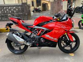 TVS APACHE 310RR 2018 model 1st owner