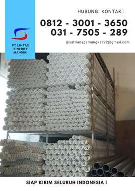 PIPA PVC MASPION 1 1/2; inch PUTIH STD D / Pralon Standard 4 meter