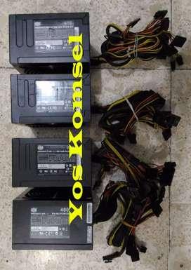 PSU Pure Power 400W 450W 500W 550W Bukan Korea / Abal2