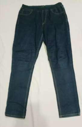 Celana jeans Unisex  BEBE  Stretch Pinggang karet cocok utk bumil 31