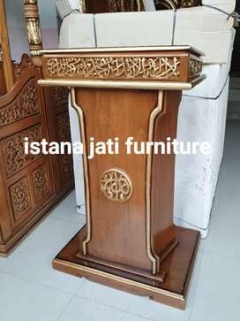 Jualan mimbar masjid bisa sekalian nama masjid