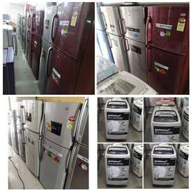 Best 5 year warranty 250 liter double door fridge available