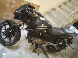 My new condition pulsar 180