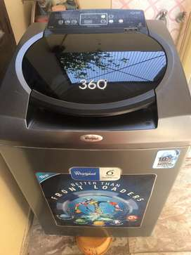 Fully automatic whitlpool 8kg washing  machine@26000