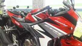 All new honda cbr 150 r racing red 2017 inject fuel