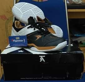Sepatu Bulutangkis Flypower Rio Gold C1