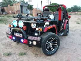 Open hunter modified willys jeeps