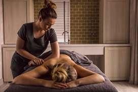 Female Spa Therapist..