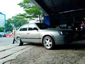 Hyundai avega pakai velg hsr vest ring 16x8-9 terima tukar tambah velg
