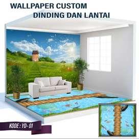 Wallpaper Dinding 3D Custom Desain.1930383urb
