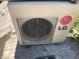 AC LG 1/2 PK 260 watt harga plus pasang Grs 6 bulan dingin istimewa