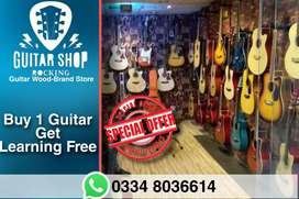 branded guitars on wholesale rates  delivery available starting 6500