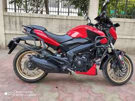 2018 BAJAJ DOMINAR 400 ABS.LIMITED EDITION RED COLOUR..SCRATCHLESS.