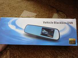 Car DVR with HD front and back camera