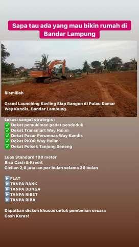 Tanah Dijual di Way Kandis Bandar Lampung