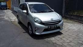 Toyota AGYA G manual 2013 plat DR barang istimewa.