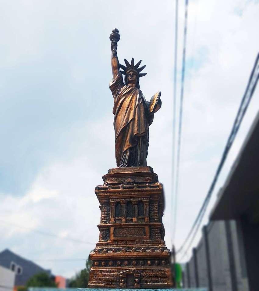 Miniatur Menara Patung Liberty USA Miniatur Menara  Amerika Serikat 0