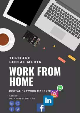 Earn 20-25k a month by working at home through social media