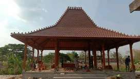 Pendopo Joglo Kayu Jati Ukir Tumpangsari, Rumah Joglo Gebyok Ukiran.