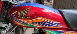 Honda cd 70 2020 model close to new