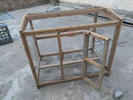 Cage for parrots